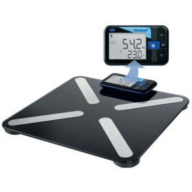Veroval smart scale for optimal body weight assessment and body composition analysis