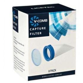 V-Comb filteri za električni češalj - usisavač za uši i gnjide, 8 kom.