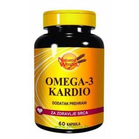 Natural Wealth Omega-3 Kardio, 60 kom.