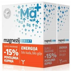 Yasenka magnezij DIREKT 375 DUO pakiranje