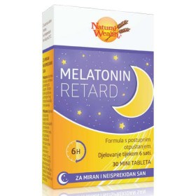 Melatonin Retard tablete za miran i neisprekidan san