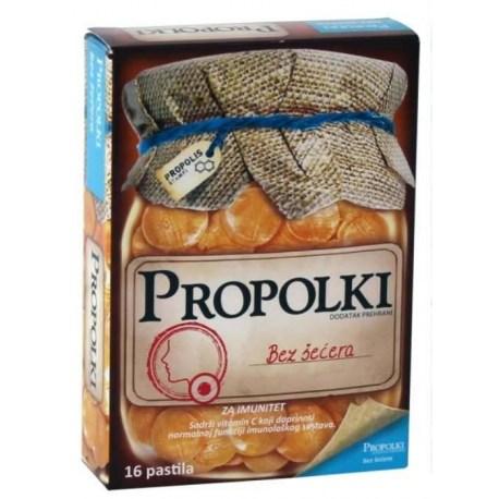 Propolki pastile s propolisom i vitaminom C, bez šećera