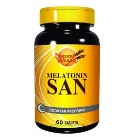 Natural Wealth Melatonin San, 60 kom.