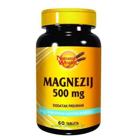 Natural Wealth Magnezij 500mg, 60 kom.