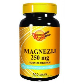 Natural Wealth Magnezij 250mg, 100 kom.