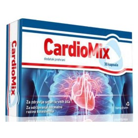 Hamapharm CardioMix capsules for heart and blood vessel health