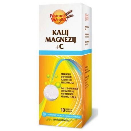 Natural Wealth Kalij Magnezij + C