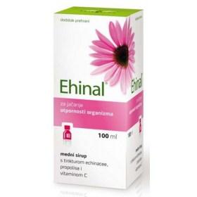 EHINAL medni sirup s tinkturom ehinacee, propolisa i vitaminom C