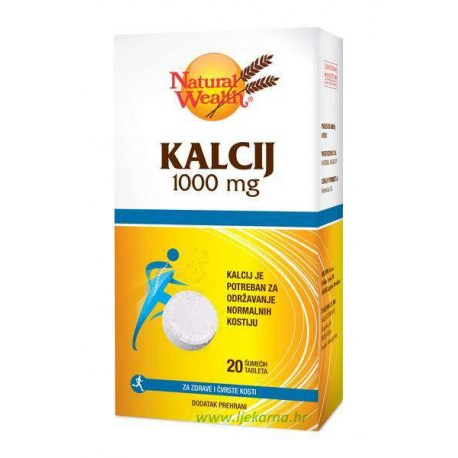 Natural Wealth Kalcij 1.000mg