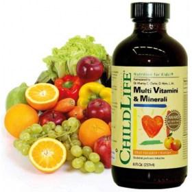 ChildLife Multivitamini & Minerali tekući dodatak prehrani 237ml