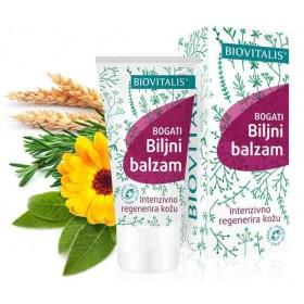 Bogati biljni balzam za intenzivnu i brzu regeneraciju kože