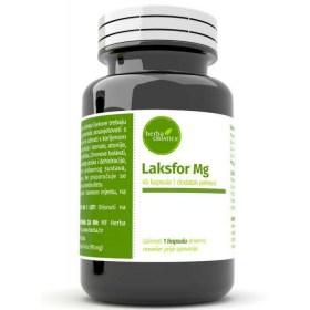 Laksfor Mg kapsule za lakšu probavu i brže pražnjenje crijeva