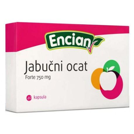 Encian Jabučni ocat Forte, 40 kapsula