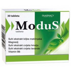 Modus pills help with stress and insomnia