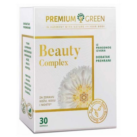 BEAUTY COMPLEX kapsule za zdravu kožu, kosu i nokte