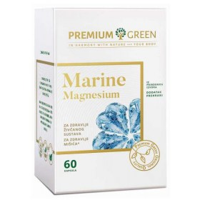 MARINE MAGNESIUM capsules for nervous system and muscle health