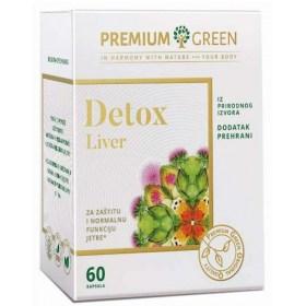 DETOX LIVER kapsule za zaštitu i normalnu funkciju jetre
