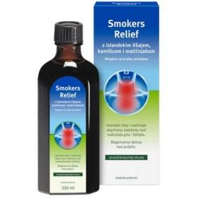 Smokers Relief otopina s islandskim lišajem, kamilicom i matičnjakom