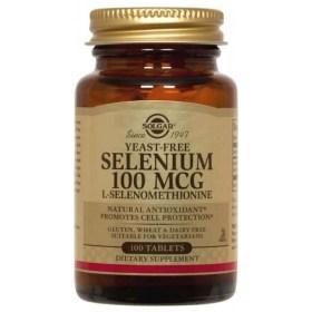 Solgar Selen 100μg tablets 100 pcs.