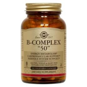 "Solgar B-Complex ""50"" capsules 100 pcs."