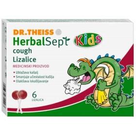 HerbalSept Kids lizalice protiv kašlja