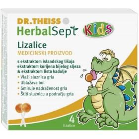 HerbalSept Kids lizalice protiv grlobolje