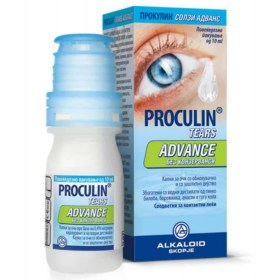 Proculin Tears Advance Eye Drops