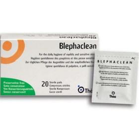 Blephaclean sterilne maramice za higijenu vjeđa, 20 kom.