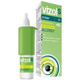 Vizol S Allergy kapi za oči s ektoinom 10ml