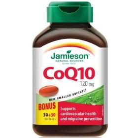 Jamieson CoQ10 120mg, 60 kapsula