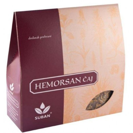 Suban Hemorsan čaj, 80g