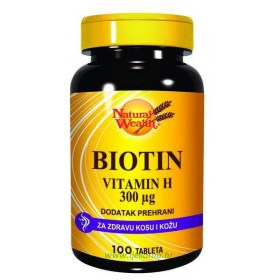 Natural Wealth Biotin tablete, 100 kom.