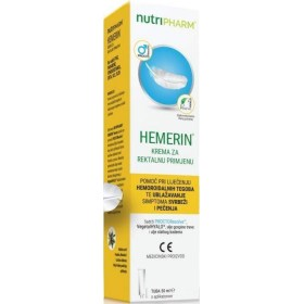Nutripharm Hemerin krema za pomoć kod hemoroida