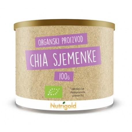 Chia sjemenke Organske 100g Nutrigold