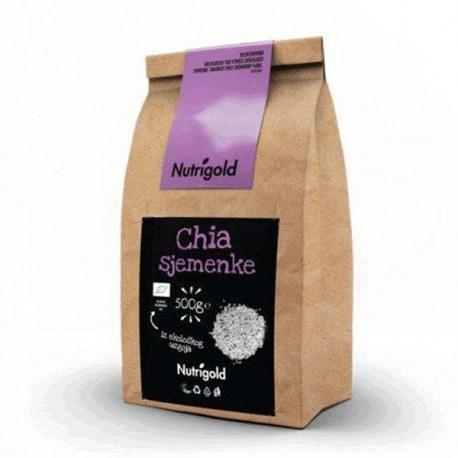 Chia sjemenke Organske 500g Nutrigold
