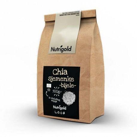 Chia sjemenke Premium bijele Organske 500g