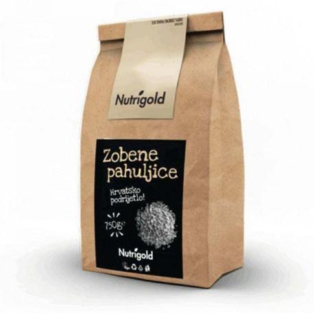 Zobene pahuljice 750g Nutrigold