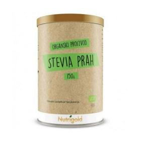 Stevia prah zeleni 150g Nutrigold