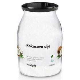 Kokosovo ulje bez mirisa 1000ml staklenka