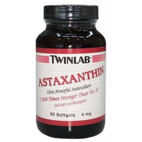 Twinlab Astaxanthin 4mg x 60 capsules