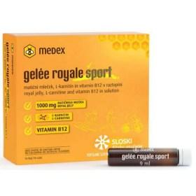 Medex Gelee Royale Sport, 10 bočica