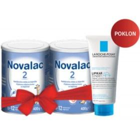 Novalac 2 duopack + GRATIS gel za pranje Lipikar Syndet AP+