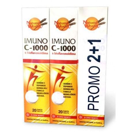 Imuno C-1000 s bioflavonoidima PROMO 2+1 GRATIS