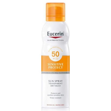 Eucerin Sensitive Protect Dry Touch sprej SPF 50 200ml