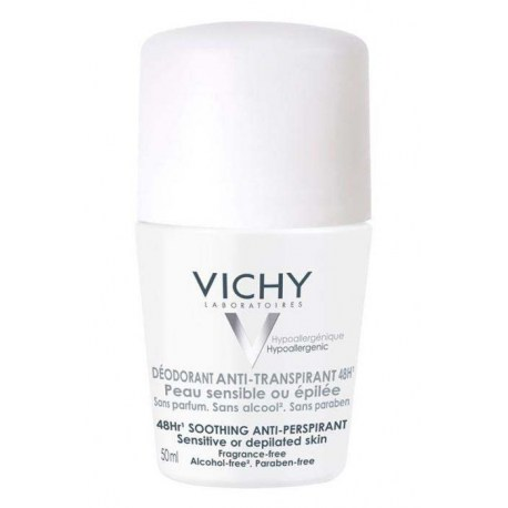 Vichy Roll-on Dezodorans antiperspirans roll-on osjetljiva ili depilirana koža