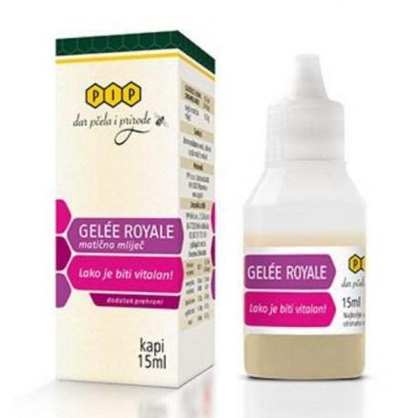 Pip Gelée Royale matična mliječ kapi, 15ml