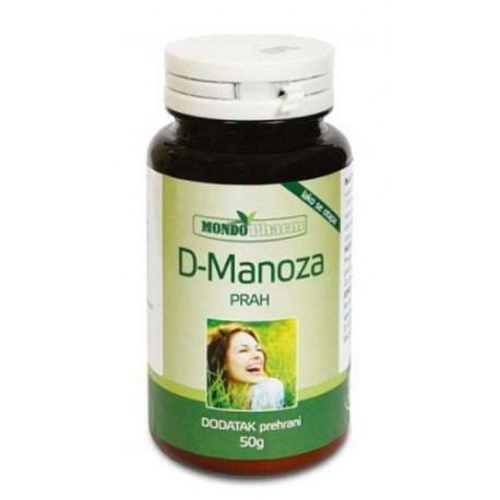 D-manoza prah 50g Mondopharm