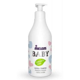 Melem Baby bath and shampoo 500ml