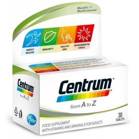 Centrum A-Z dietary supplement with lutein, 30 pcs.