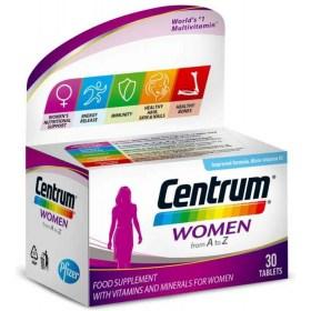Centrum Women Vitaminsko mineralni dodatak prehrani, 30 kom.
